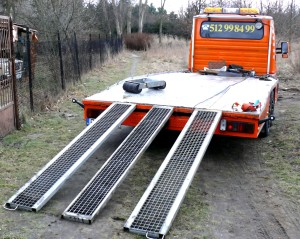 Mocne rampy podjazdowe najazdy